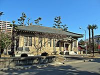 Museum of the Horse in Takekoma-jinja shrine.JPG