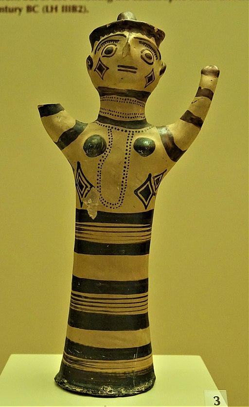 Mycenae Female Figure - Archaeological Museum of Mycenae by Joy of Museums