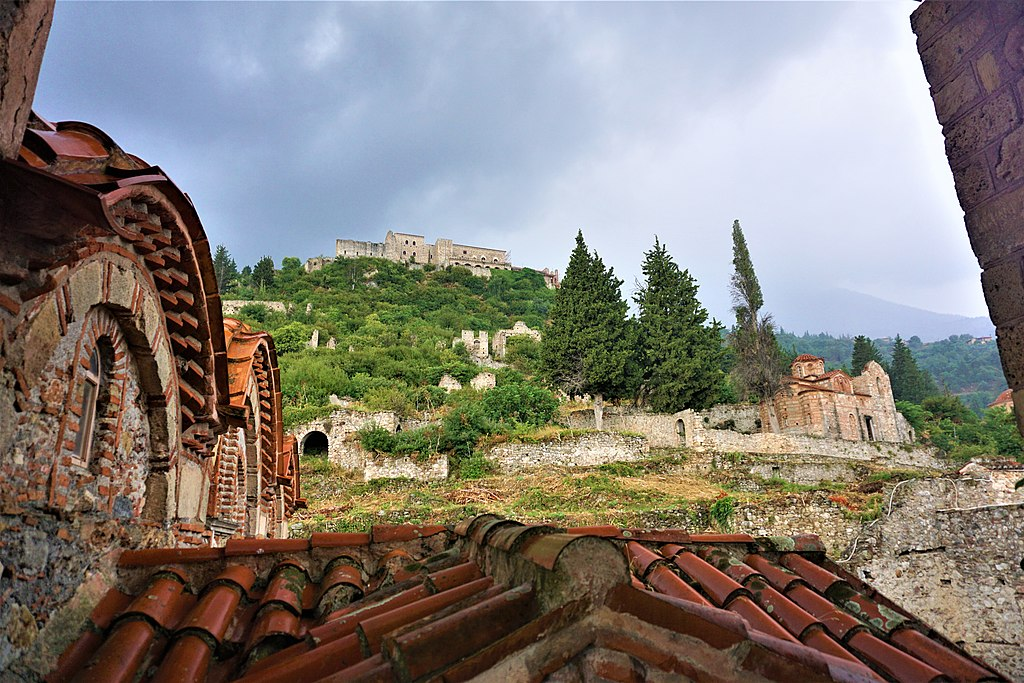 Mystras - View from the Metropolis