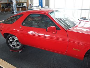 MythBusters (2010 season) - The Porsche 928 that was converted to have driver to face the rear view