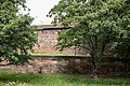 Nürnberg, Stadtbefestigung, Frauentormauer am Mauerturm Rotes M 20170616 001.jpg