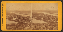 N.E. Nashville, showing Cumberland River and Edgefield, Tenn, by Giers, Carl, 1828-1877.png