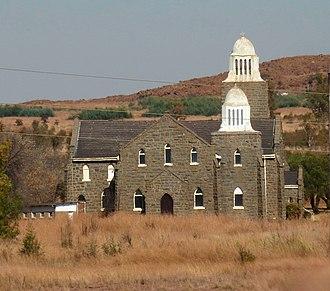 Laersdrif - NG stone church at Laersdrif