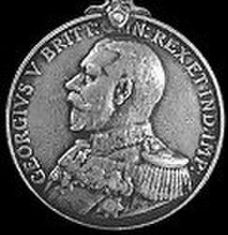 Naval General Service Medal (1915) - Image: NGSM 1915 GV obv
