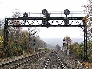 Buffalo Line rail line in New York and Pennsylvania