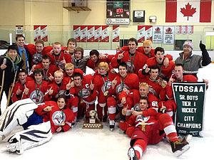North Toronto Collegiate Institute - North Toronto Varsity Hockey Team, TDSSAA City Champions 2012