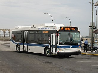 St. George Terminal - S51 bus at St. George Ferry Terminal
