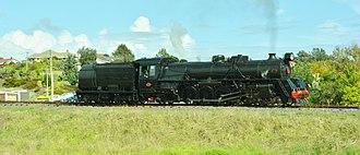 Glenbrook Vintage Railway - Image: NZR Ja 1250 At Waiuku. (13917679766)