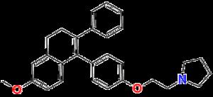 Nafoxidine - Image: Nafoxidine