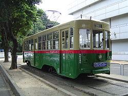 名古屋市立科学館に市電1401