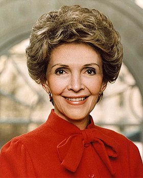 Nancy Reagan, en 1983.
