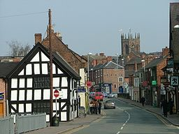 Nantwich - view down Welsh Row.JPG