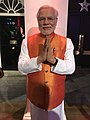 Narendra Modi at Madame Tussauds London 2019-07-17.jpg