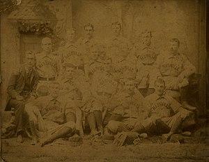 Nashville Americans - The 1886 Nashville Americans