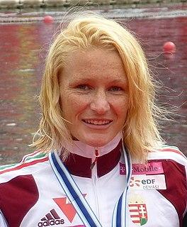 Natasa Dusev-Janics Hungarian canoeist