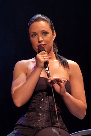 Natasha St-Pier - Natasha St-Pier during her concert in Denain, on 2010 France Tour