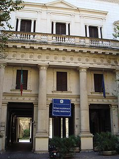 National Museum of Oriental Art archaeology, Art museum in Rome, Italy