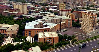 National Polytechnic University of Armenia - General view of the university complex in Yerevan