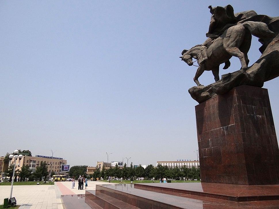 Navoi Square (Formerly Bobur Square) - Where 2005 Massacre Took Place - Andijon - Uzbekistan (7544000842)