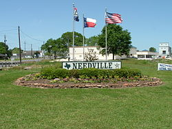 Needville, Texas.