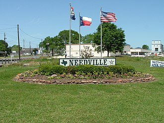 Needville, Texas - Image: Needville TX sign