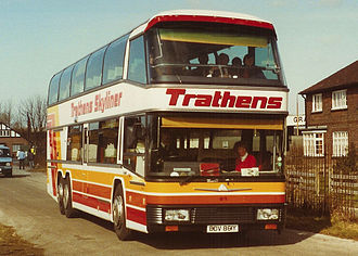 Neoplan - Trathens Travel Services, Plymouth 1983 Neoplan Skyliner