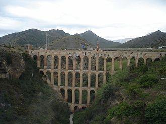 Nerja - Aqueduct of Nerja.