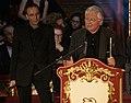 Nestroy 2009 (30), Jossi Wieler, Frank Baumbauer.jpg