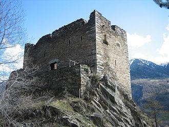 Neuburg Castle - Ruins of Castle Neuburg