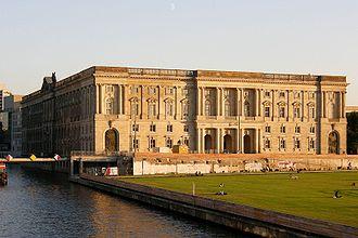 Ibero-American Institute - The Neuer Marstall, original home of the IAI until World War II