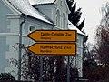 Neupurschwitz - Nowe Poršicy - traffic sign.jpg