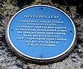 Nevison's Plaque, Nevison's Leap, Ferrybridge Road, Pontefract. - geograph.org.uk - 1701582.jpg
