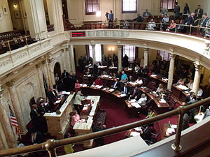 Government of New Jersey - The New Jersey Senate during a session in June 2013