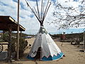 New River-Wrangler's Roost Stage Coach Stop-Tee Pee-1890.JPG