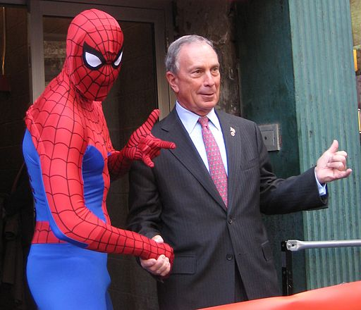 New York City Mayor Mike Bloomberg at Midtown Comics2