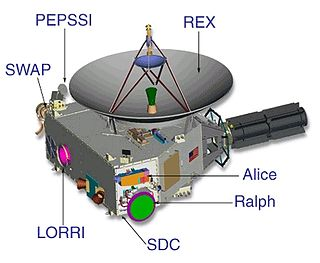 Venetia Burney Student Dust Counter scientific instrument aboard the unmanned New Horizons space probe