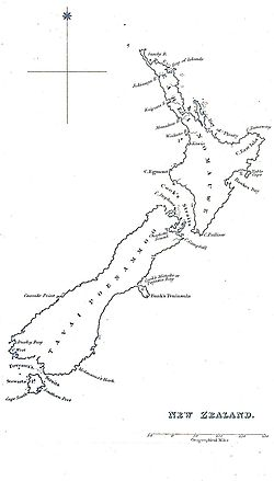 New Zealand in 1832