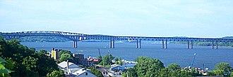 Newburgh–Beacon Bridge - Newburgh-Beacon Bridge from Newburgh, NY