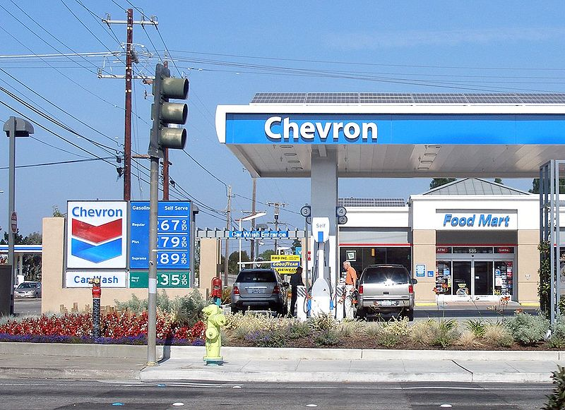 Chevron Oil Stop Car Wash Rohnert Park