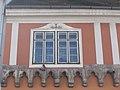 Nicki house, Baroque window. - 20 Országház Street, 2016 Budapest.jpg