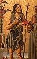 Nicola di maestro antonio d'ancona, madonna col bambino in trono tra santi, 1472, 09 battista.jpg