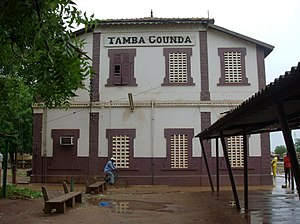 Tambacounda - Tamba Counda train station
