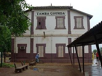 Tambacounda - Tamba Counda train station