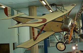 Nieuport 11 - Original Nieuport 11 Bébé displayed at the Musée de l'Air in France
