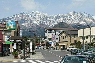 Nikkō, Tochigi - downtown Nikkō city