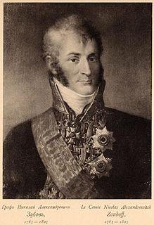 Nikolay Alexandrovich Zubov Russian count