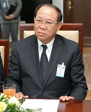 Senate of Thailand - Former president of the Senate of Thailand Nikom Wairatpanij