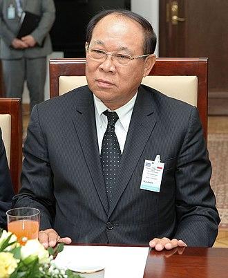 Senate of Thailand - Former president of the Senate of Thailand Nikom Wairatpanij