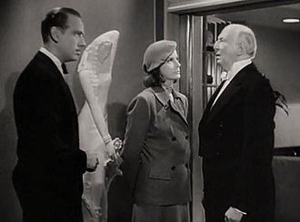 Ninotchka - Melvyn Douglas, Greta Garbo and Richard Carle