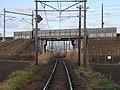 Nishizyuku Bi (Ohmi Railway Youkaichi Line over Tokaido Shinkansen).jpg